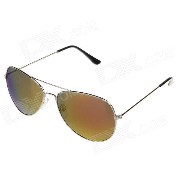 3007 Fashion Zinc Alloy Frame Resin Lens UV400 Protection aurinkolasit