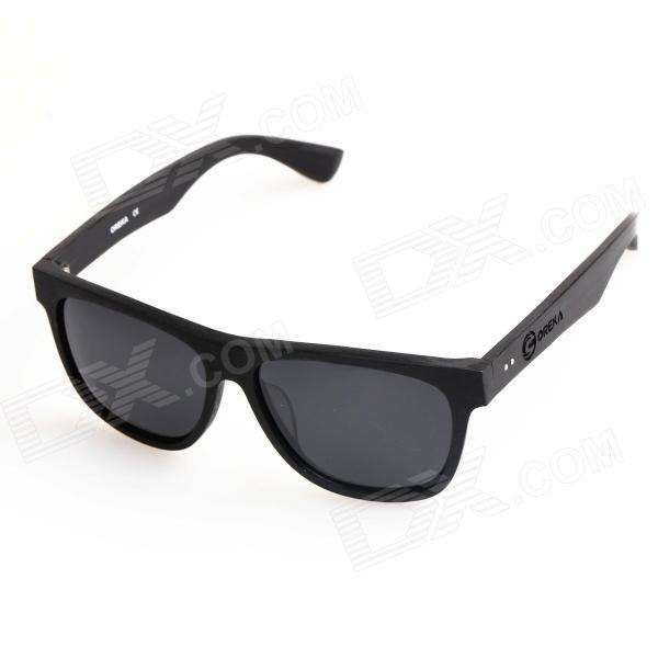OR14010 Fashionable UV400 Protection Cellulose Acetate Frame Polarized Resin Lens Sunglasses - Black ichi 100761 14010
