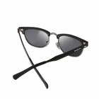Reedoon 2276 Men's Stylish Small Frame UV400 Polarized Sunglasses - Black