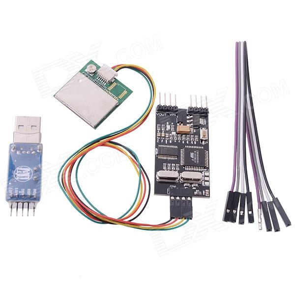 Remzibi OSD FPV OSD GPS Module USB TTL Programmer Combo for RC Multi-rotor Airplanes + Tracking hubsan h301s spy hawk 5 8g fpv 4ch rc airplane rtf with gps module