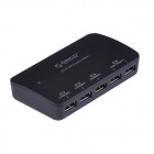 ORICO DCP-5U 5 Ports Multi-Phone Charger for IPAD / IPHONE / Samsung + More - Black