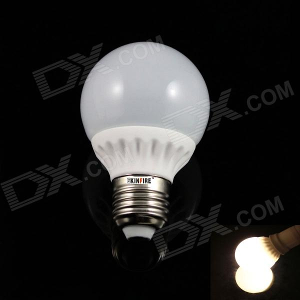 KINFIRE Ceramic E27 5W 380 Lumen 3000K 10-SMD 5630 LED Warm White Bulb light (AC 85 ~ 265V)