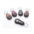 Electronic Key Finder Transmitter w/ 4 Receivers - Black