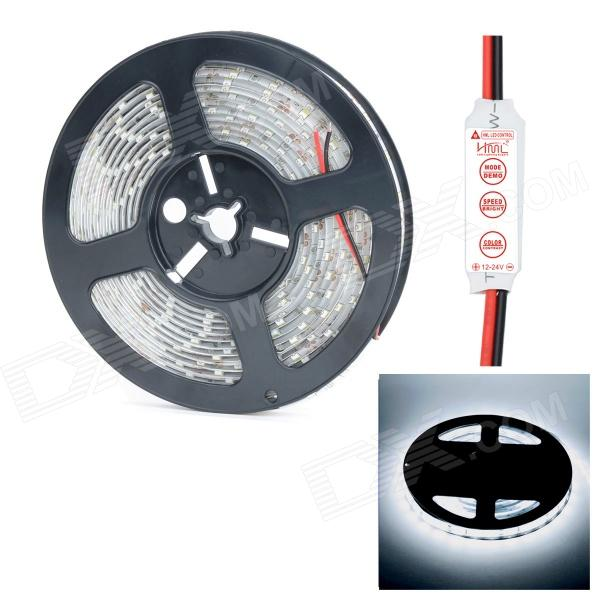 HML N56 Waterproof 72W 5000lm 300 x SMD 5630 LED Cold White Strip (5m)