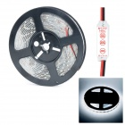 HML N56 Waterproof 72W 5000lm 6500K 300 x SMD 5630 LED White Light LED Strip w/ HML Mini Controller