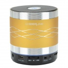 CHEERLINK SDH-802 Hi-Fi Stereo Bluetooth V2.1+EDR Speaker w/ Hand Free / FM / AUX / TF - Golden
