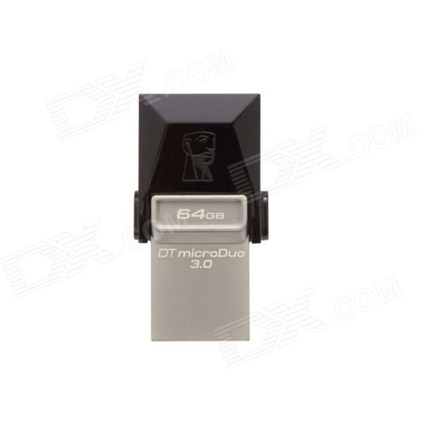 Kingston DTDUO3 Digital Data Transfer Micro USB / USB 3.0 OTG Flash Drive (64GB)