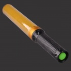 3W Yellow Light LED Hand Light Stick Aluminum Alloy LED Flashlight - Yellow + Black (3 x AAA)