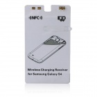 Kruuse LSR141 QI Standard Wireless Charging Receiver w/ NFC Card for Samsung Galaxy S4 i9500 - White