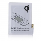 Kruuse LSR130 QI Standard Wireless Charging Receiver for Samsung Galaxy S3 i9300 - White