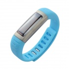 "U watch U9 Waterproof 0.91"" Bluetooth V3.0 Smart Watch Wristband w/ Sports / Sleep Tracking - Blue"