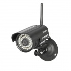 "Sricam AP003 1/4"" CMOS 0.3MP P2P Outdoor IP Camera w/ 36-IR-LED / Wi-Fi - Silver (US Plug)"