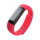 "U watch U9 Waterproof 0.91"" Bluetooth V3.0 Smart Watch Wristband w/ Sports / Sleep Tracking - Pink"