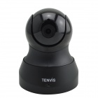 TENVIS TH661 CMOS 1.0MP HD Indoor Networking P2P CCTV Camera - Black