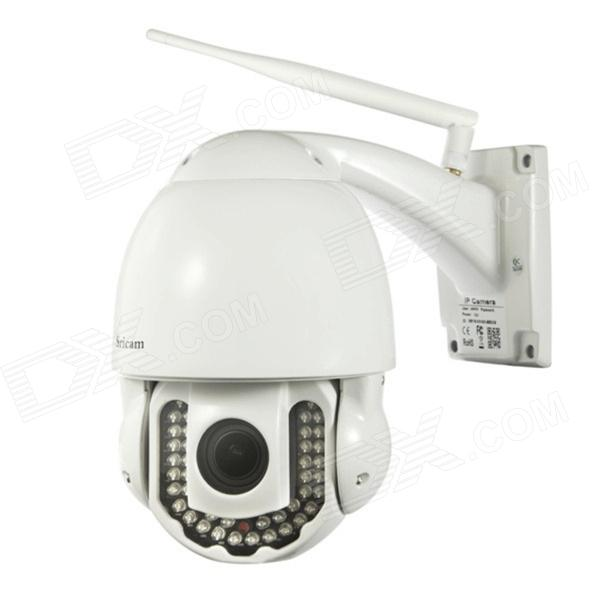 Sricam Outdoor Waterproof 1.0MP CMOS 720P PTZ WiFi Night Vision P2P HD IP Camera w/ 5X Optical Zoom sricam outdoor waterproof 300kp cmos wireless p2p wifi ir night vision ip camera silvery white