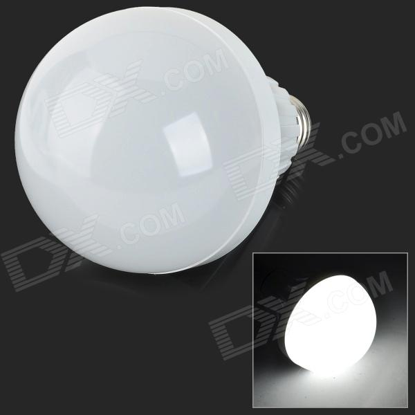 E27 15W 1200lm 7000K 52-SMD 2835 LED White Light Bulb - White + Silvery Grey (AC 220~240V) от DX.com INT