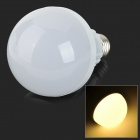 E27 12W 900lm 3500K 42-SMD 2835 LED Warm White Light Bulb - White + Silvery Grey (AC 220~240V)