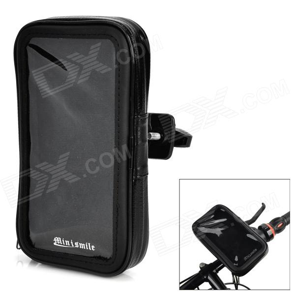 High Quality Bike Mount Holder + Waterproof Bag for Sony Xperia Z2 / L50w - Black high quality black for sony xperia z2