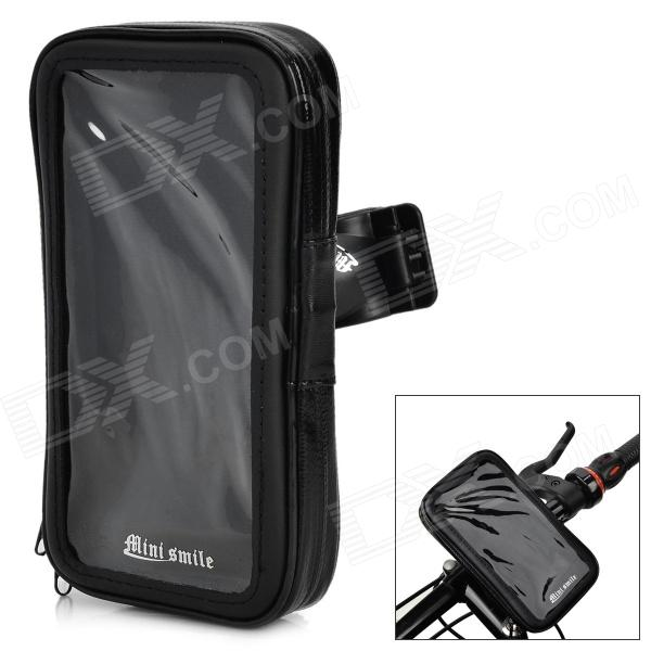 High Quality Bike Mount Holder + Waterproof Bag for LG G3 - Black