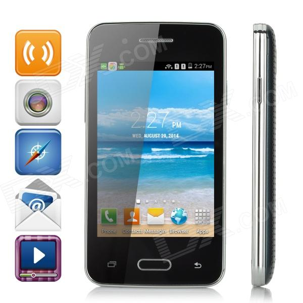 L300 3.5 LCD SC7715 Single-Core Android 4.4.2 WCDMA Phone w/ 512M ROM / WiFi / GPS - Black