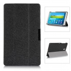 Protective PU Leather Case Cover w/ Magnetic Closure for Samsung Galaxy Tab S 8.4 / T700 - Black