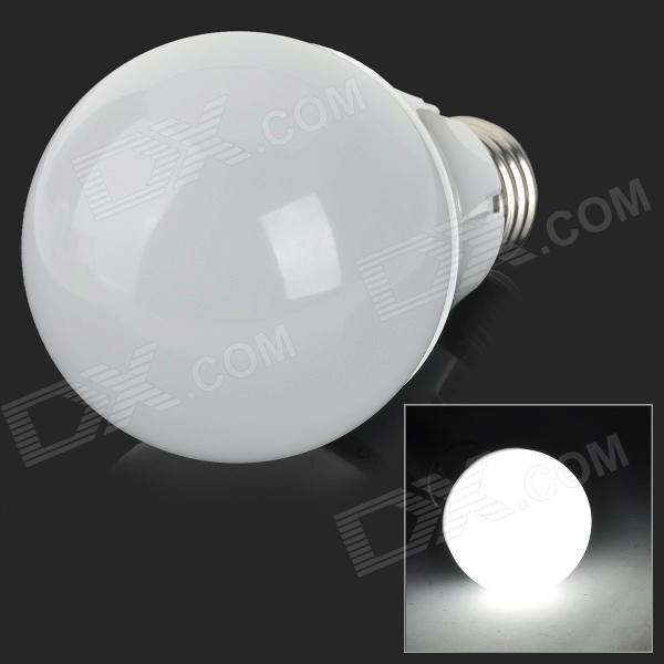 E27 7W 500lm 6000K 36-SMD 2835 LED White Light Bulb - Silver + White (100~250V) от DX.com INT