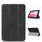 Protective PU Leather Case Cover w/ Magnetic Closure for LG G Pad 10.1 - Black