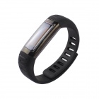 "U watch U9 Waterproof 0.91"" Bluetooth V3.0 Smart Watch Wristband w/ Sports / Sleep Tracking - Black"