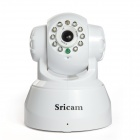 Sricam Wireless WiFi Surveillance 300KP CMOS PT P2P IP Network Camera w/ Two Way Audio