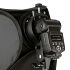 Support godox speedlite mount + softbox pour studio de photographie - noir