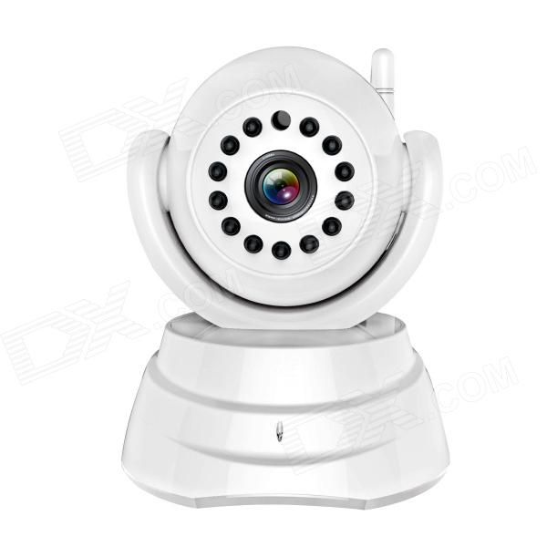 WANSCAM JW0003 Standard Definition 300KP CMOS Night Vision IP Camera - White (US Plug)