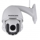 WANSCAM HW0025 HD 1.0MP CMOS Night Vision IP Camera - valkoinen (AU Plug)