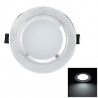 Marsing TD-381 Crystal 5W 500LM 3500K Warm White LED Ceiling Light - White + Golden