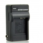 DSTE DC68 US Plug Battery Charger for Panasonic DMC-FS1 / FXO1-A / Fujifilm F20 + More - Black