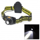 250lm White Light Inductive Headlamp w/ Cree XP-G R5 - Black + Green (3 x AAA)