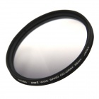 NISI 55mm GC-GRAY Soft Graduated Filter for Nikon / Sony + More - Black + Grey