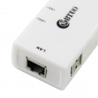 WBTUO 3-Port USB 3.0 HUB w/ Ethernet RJ45 Port LAN Ethernet Network Adapter - White