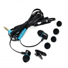 ipipoo ip-A300Hi In-Ear Earphone w/ Mic - Black + Blue