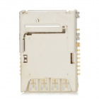Replacement Repair Parts Card Slot for Samsung i9200 - Silver