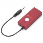BYL-918 Wireless 3.5mm Plug Bluetooth V2.0 Audio Receiver Dongle - Red
