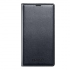Samsung Protective PU Flip Open Case w/ Card Slot for Galaxy S5 G9009D / G9006V - Black