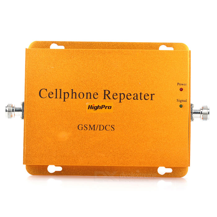 HighPro GSM DCS 900/1800MHz Dual-Band Mobile Phone Signal Repeater Booster Amplifier 3g wcdma 2100mhz dual band mobile phone signal amplifier signal repeater booster