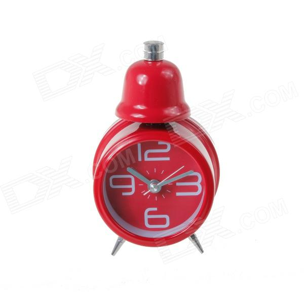 CPTCAM CP-19 Children's Bedroom Bedside Desktop Alarm Clock - Red (1 x AA)
