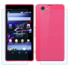 Mr.northjoe Front & Back Tempered Glass Film Protector for Sony Xperia Z1 Compact / Z1 Mini (2 PCS)
