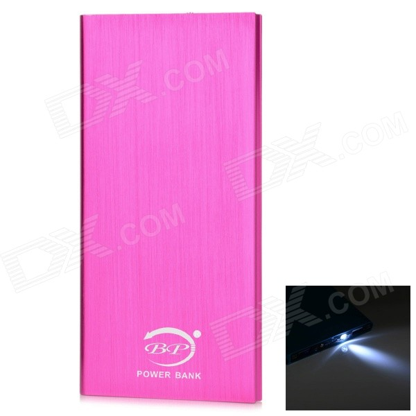 BP M1 15600mAh Li-polymer Battery Dual-USB Mobile Power Bank for IPHONE / Samsung + More