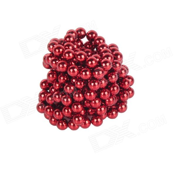 DIY 3mm Neodymium Magnet Spheres - Red (216 PCS) qs 3mm216a diy 3mm round neodymium magnets golden 216 pcs page 9