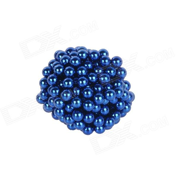 DIY 3mm Neodymium Magnet Spheres - Navy blue (216 PCS) qs 3mm216a diy 3mm round neodymium magnets golden 216 pcs page 9