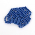 DIY 3mm Neodymium Magnet Spheres - Navy blue (216 PCS)