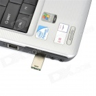 Mini Aluminum Alloy USB 2.0 Flash Drive - Silver (32GB)