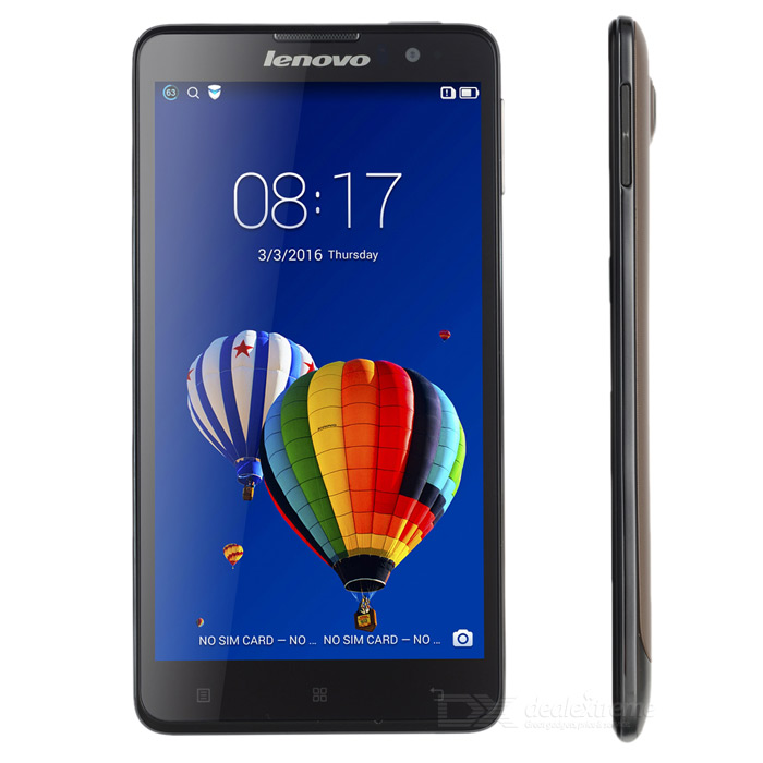 "Lenovo S8 MTK6592 Octa-Core Android 4.4 Bar Phone w/ 5.3"" Screen, 2GB RAM, 16GB ROM - Golden Gray"